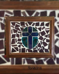 By Tonib316 Purple Cross, Teal, Frame, Home Decor, Art, Picture Frame, Art Background, Decoration Home, Room Decor