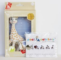 Sophie Catcher  Sophie The Giraffe Gift Set by PaciCatchers
