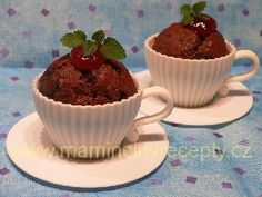 Dvojčokoládové muffiny Pudding, Cupcakes, Cakepops, Breakfast, Desserts, Food, Morning Coffee, Tailgate Desserts, Cupcake Cakes
