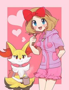 Congratulate, the pokemon serena naked with ash consider, that