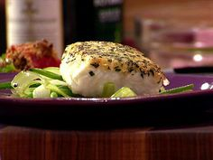 Herb-Crusted Halibut : You'll never guess what Chef Anne uses as her crispy flavor weapon!
