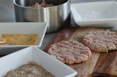 Paleo Pork, Apple & Fennel seed Schnitzel- primal, gluten free, dairy free, clean eating, jerf: