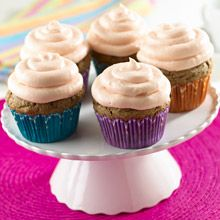 These inspired Black Bean with Guava Frosting cupcakes is the creation of Miami pastry chef, Hedy Goldsmith. This fun dessert is delicious too; and our guess is you won't believe it until you try it!