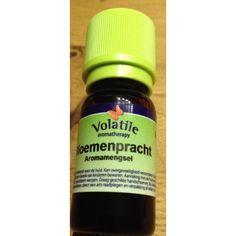 Bloemenpracht aromamengsel etherische olie 10ml Met o.a. Cananga, Geranium en Rozenhout. Deze zoete, bloemige geur is heel vriendelijk en rustgevend. Het mengsel is verlichtend bij depressiviteit, angst en stress. Voor wie druppeltjes geduld nodig heeft, is bloemenpracht heel geschikt. Werkt opwekkend en motiverend