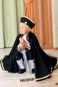 Hetalia (by Shiro-Kuro Gang) by ShiroKuroGang.deviantart.com on @deviantART - HRE cosplay. And, yes, this IS an actual child in cosplay!