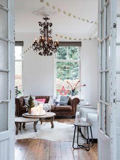 feestelijke woonkamer | festive livingroom | vtwonen 12-2016 | photography: Louis Lemaire | styling: Marlies Does