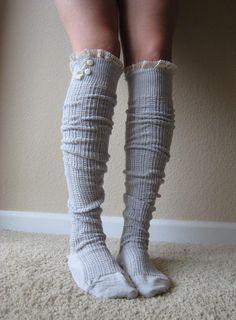 Lacy Boot socks