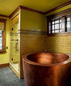 Copper Japanese Soaking Tub