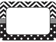 These name tags/labels are bigger than ever!The larger writing space comes in handy when using them for name tags, gift tags, or labels for student portfolios and cubbies. 36 name tas per pack, bundle of 6 packs, 216 name tags total Printable Name Tags, Chevron Printable, Printable Labels, Free Printables, Chevron Name Tags, Locker Name Tags, Classroom Name Tags, Classroom Labels, Name Tag For School