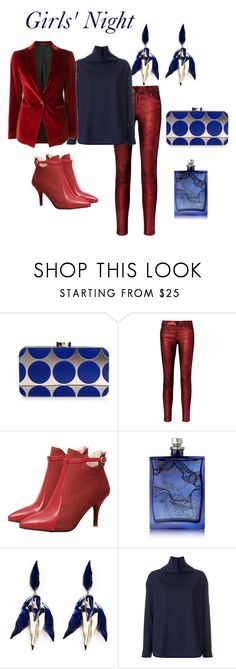 """""""951"""" by explorer-14809378428 ❤ liked on Polyvore featuring Manolo Blahnik, RtA, The Beautiful Mind Series, Elizabeth and James, Victoria, Victoria Beckham and Tagliatore"""