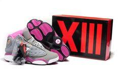 premium selection 714ca 78e1a Buy Jordan 13 Retro Women Grey Pink Black Shoe from Reliable Jordan 13 Retro  Women Grey Pink Black Shoe suppliers.Find Quality Jordan 13 Retro Women  Grey ...