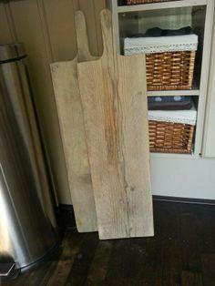 Grote kaas/hapjes planken van steigerhout