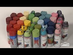 How to Spray Paint - Tips from Lowe's - YouTube