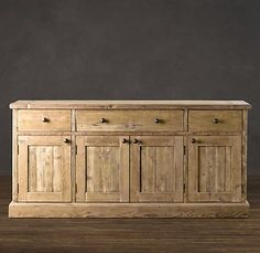 | Copy Cat Chic | chic for cheap: Restoration Hardware Salvaged Wood Sideboard