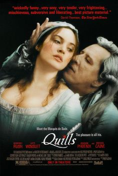 Quills [Vídeo] / dirigida por Philiph Kaufman. - Madrid : Twentieth Century Fox Home Entertainment España, 2001