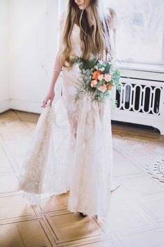 Glamouröse Boho-Braut in Kupfer & Grün SABRINA SCHINDZIELORZ http://www.hochzeitswahn.de/inspirationsideen/glamouroese-boho-braut-in-kupfer-gruen/ #wedding #inspiration #bride