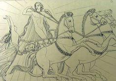 Lampetia vola da Helios ( libro XII).