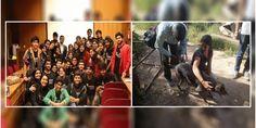 #DelhiUniversity Students Promote #DesiDogs For #Adoption