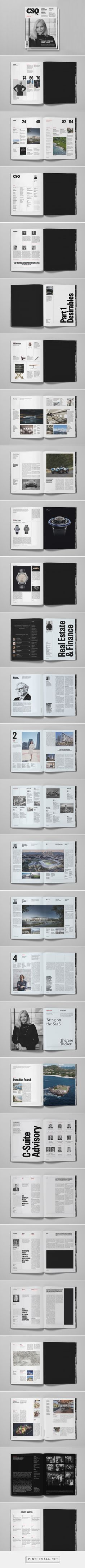 CSQ Magazine, Los Angeles on Behance... - a grouped images picture - Pin Them All