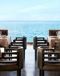 Viceroy Anguilla  ( West End, Anguilla )  Coba restaurant is one of the five eateries and lounges on-site. #Jetsetter