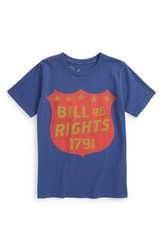 a1fe3fca Peek 'Five Freedoms' Graphic T-Shirt (Toddler Boys, Little Boys &