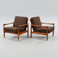Beautifully shaped armchairs by IKEA from 1961.
