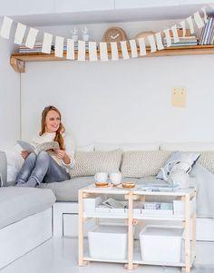 Salontafel - Coffeetable Kijk op www.101woonideeen.nl #tutorial #howto #diy #101woonideeen #salontafel #coffeetable