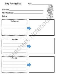 Fiction & Nonfiction Planning Sheets *Reproducible from Windup Teacher on TeachersNotebook.com -  (6 pages)  - Planning sheets for fiction and nonfiction writing.  Fiction one works great for planning stop motion video projects. Stop Motion, Motion Video, Fiction And Nonfiction, Recent News, Worksheets, Free Printables, Teacher, Writing, How To Plan