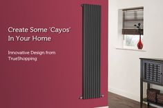 Make a statement with our latest new range of Designer Radiators Designer Radiator, Radiators, Innovation Design, Range, Curtains, Store, Home Decor, Cookers, Blinds
