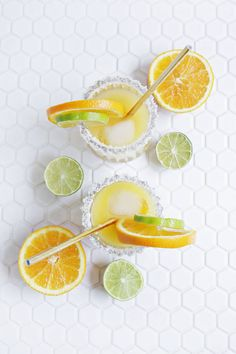 Classic Cocktail Recipe - Perfect for summer! orange mango margarita (click through for recipe)