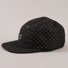 The Goodhood Store 5 Years Norse Projects x Goodhood 5th Aniversary 5 Panel Cap - Black  GOODHOOD