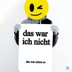 Typo Poster // quote print via DaWanda.com