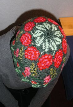 PICT0266 | Flickr - Photo Sharing! Freeform Crochet, Tunisian Crochet, Tapestry Crochet, Filet Crochet, Crochet Motif, Crochet Designs, Crochet Flowers, Crochet Stitches, Love Crochet