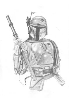 Boba fett fan art https://www.etsy.com/uk/listing/521915364/boba-fett-star-wars-return-of-the-jedi