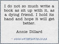 Quotable - Annie Dillard