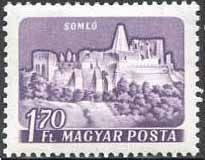 Sello: Somlyo (Somló) (Hungría) (Castles (1960-64)) Mi:HU 1656IA,Sn:HU 1288,Yt:HU 1341 Postage Stamps, World, Castles, Stamps