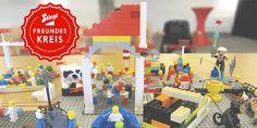 Aufbau einer starken Marken-Community mittels comrecon LEGO® experience auf Basis von LEGO® Serious Play®.  Stiegl Freundeskreis, kreative Motivforschung, Studie  comrecon.com Lego, Workshop, Research, Play, Birthday, Fun, Branding, Circle Of Friends, Search