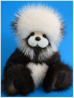 Chibby made from recycled mink fur.