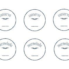 Es tiempo de hacer conservas y mermeladas. Las etiquetas más prácticas para tener la despensa organizada son siempre las más sencillas. Las ...