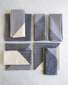 Pieced Napkins | The Purl Bee