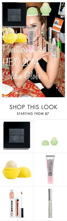 """""""Hayden Panettiere at the HBO 2014 Golden Globe Party"""" by oroartye-1 on Polyvore featuring beauty, Bobbi Brown Cosmetics, Eos, Smashbox, Buxom and Too Faced Cosmetics"""