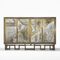 Philip and Kelvin LaVerne Chan cabinet