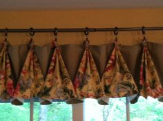 Mom's Kitchen window treatment - Mother's Day gift