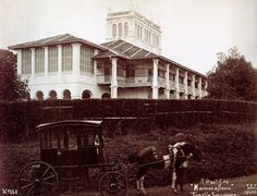 """In the 1860s, Orchard Road had a great number of private houses and bungalows on hills looking down through the valley where the road passed through. Early in the 1890s, King Chulalongkorn, the then King of Siam, acquired """"Hurricane House"""" in the vicinity of Orchard Road through Tan Kim Ching, the Thai Consul in Singapore. Two further pieces of adjoining property were added later and these subsequently became the site of the present Royal Thai Embassy at 370 Orchard Road. (Text/Wikipedia)"""