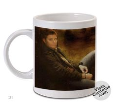 Jensen Ackles Supernatural 2, Coffee mug coffee, Mug tea, Design for mug, Ceramic, Awesome, Good, Amazing