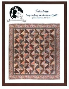 Stars over Fort Sumtner - Who doesn't like pink and brown? Quilt ... : red crinoline quilts - Adamdwight.com