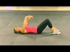 Holly Perkins will lead you through a series of exercises that tighten and tone one of the most troublesome zones:  your abdominals!