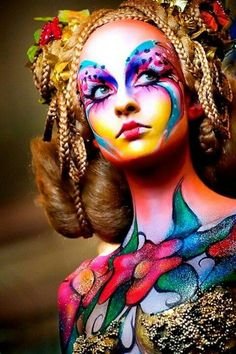 Maquillaje Fantasia de la maquilladora Corin