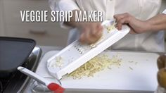 """This cool new tool is perfect for making veggie """"noodles,"""" hash browns, cauliflower rice…there's so much it can do! It's the perfect way to make the most of your produce and sneak a few fruits and veggies into each meal."""