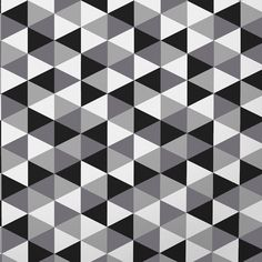 Monochrome Collection, Warwick Fabrics : YOKO / Black and White
